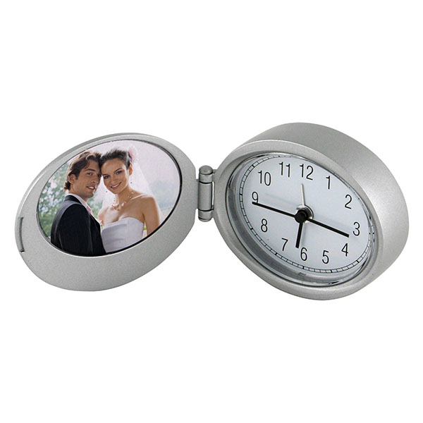 Executive Photo Frame Clock