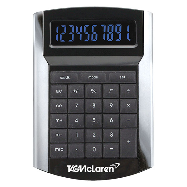 Desktop Calculator With Illuminated Display