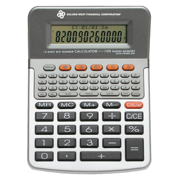 Data Bank Calculator