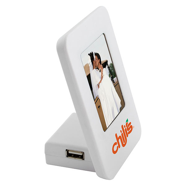 4 Port Usb Hub With Photo Frame