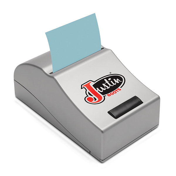 Motorized Note Pad Dispenser