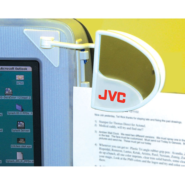 Computer Document Holder With Mirror