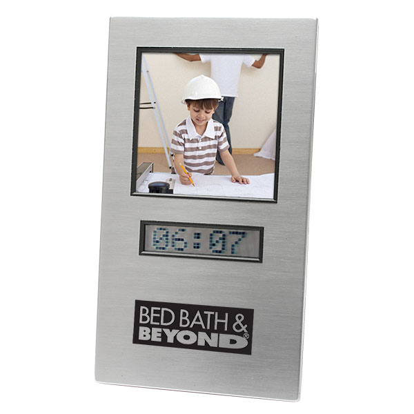 Scrolling Message Clock Photo Frame