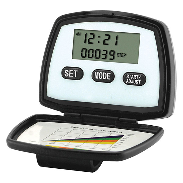 Multi Function Pedometer With 2-line Display