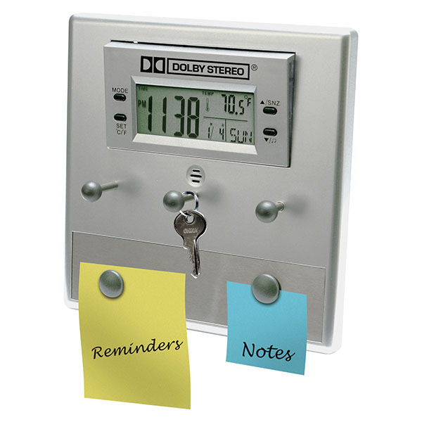 LCD Alarm Clock And Office Assistant
