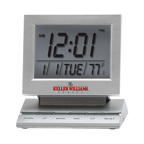 Computer Monitor Style Alarm Clock