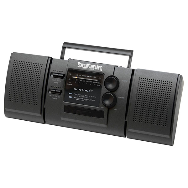 AM/FM Radio With Detachable Speaker