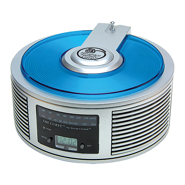 AM/FM Curve™ Alarm Clock Radio