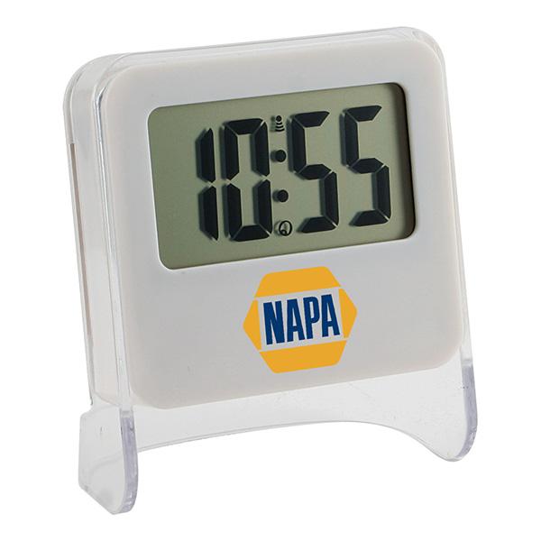 Solar Powered Digital Clock
