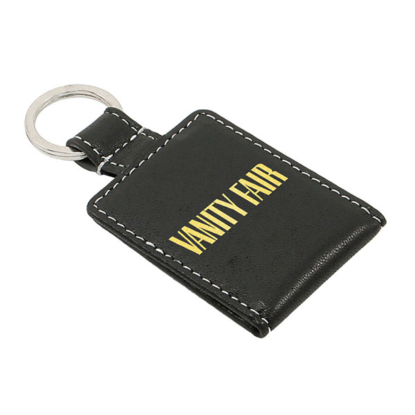 Leather Key Fob With Mini Photo Wallet