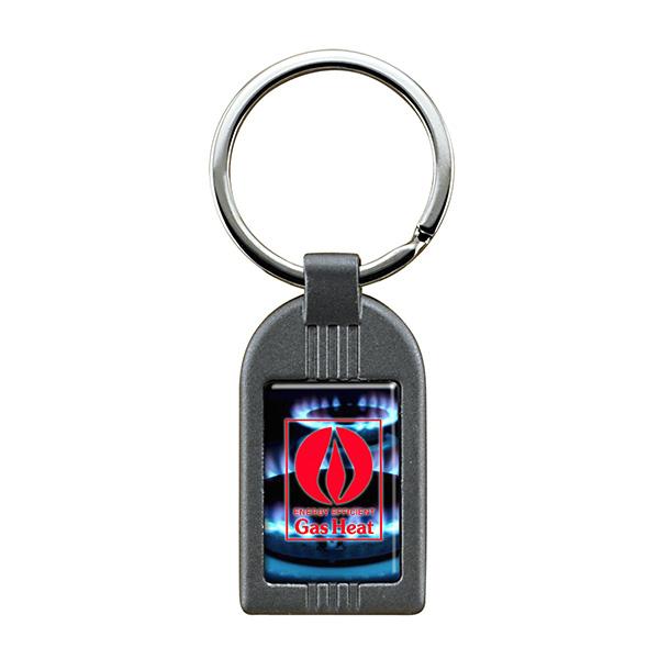 Gun Metal Keychain