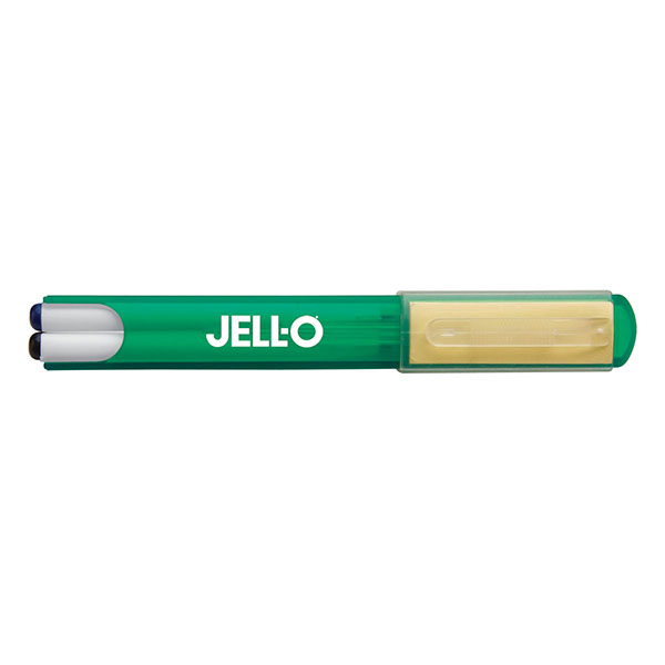 Dual Ball Point Pens With Sticky Note Pad And Carrying Case