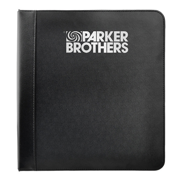 Leather Ring Binder With 1 1/4