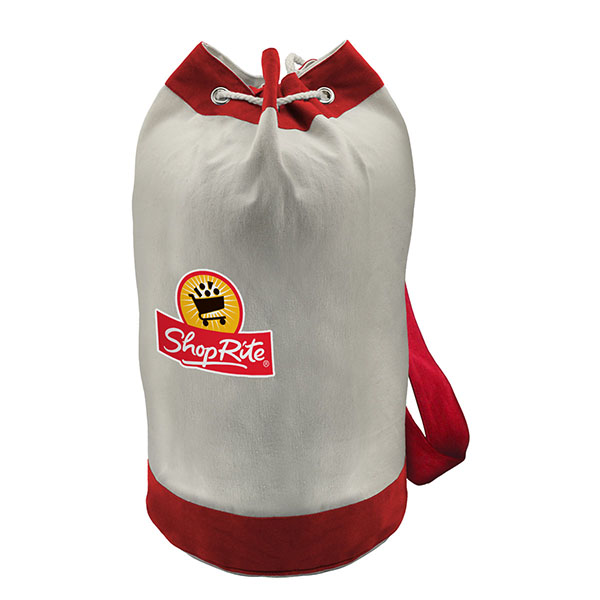 Canvas Sling Barrel Bag
