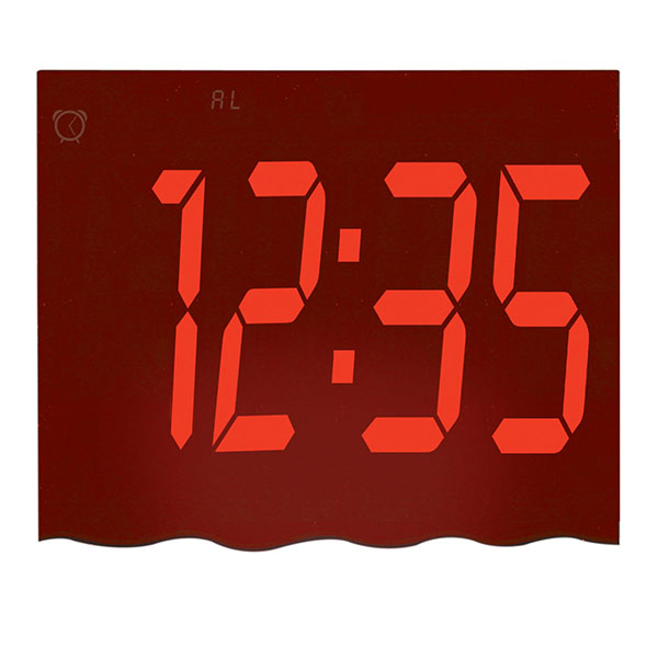 Mirror Mood Clock