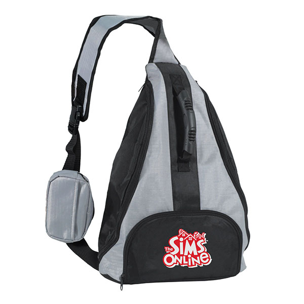 Jersey Mesh Cinch Bag