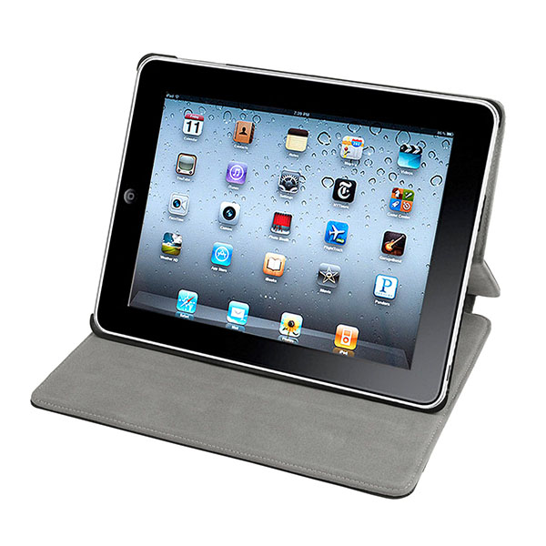 Slim Leather Case For IPad