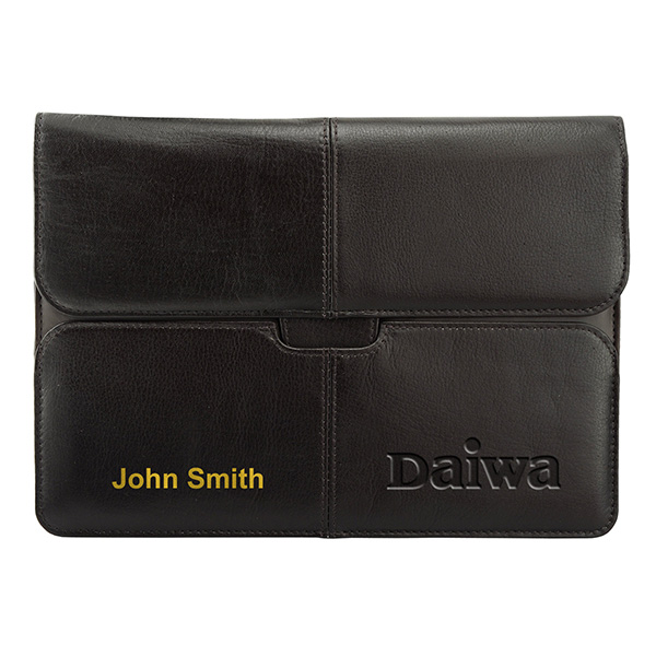 Leather Slip Case For Ipad/samsung Tablets